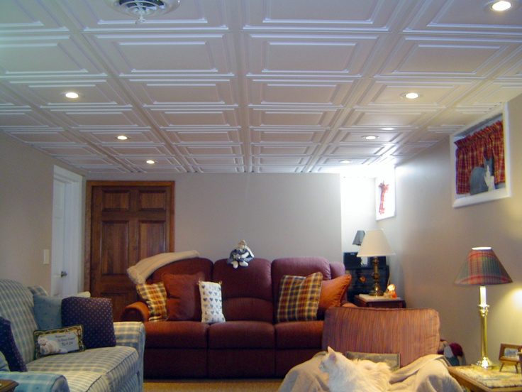 Luxury Basement Ceiling Tile