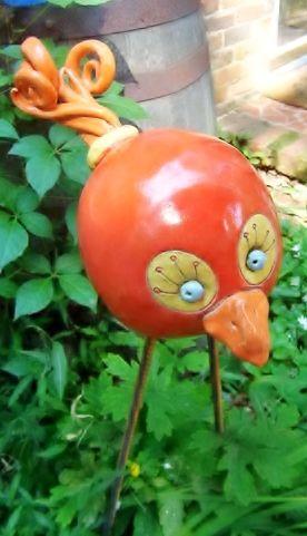 cute ceramic bird from charlottefineart.com