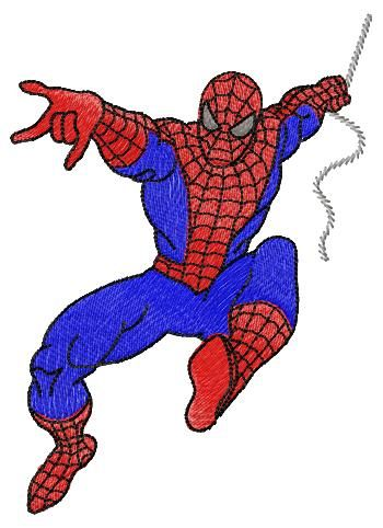 Free  machine embroidery design Spider man        Free download:    See also angels embroisery designs  don't miss new embroidery design for