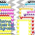 FREEBIE: Use these colorful chevron frames and backgrounds to jazz up your products or classroom!Includes:* 8 x PNG file colorful chevron frames* ...