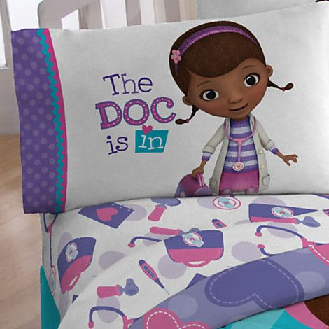 Doc McStuffins Sheet Set - Twin/Full | Bedding | Disney Store SHEETS ONLY DO NOT WANT COMFORTER