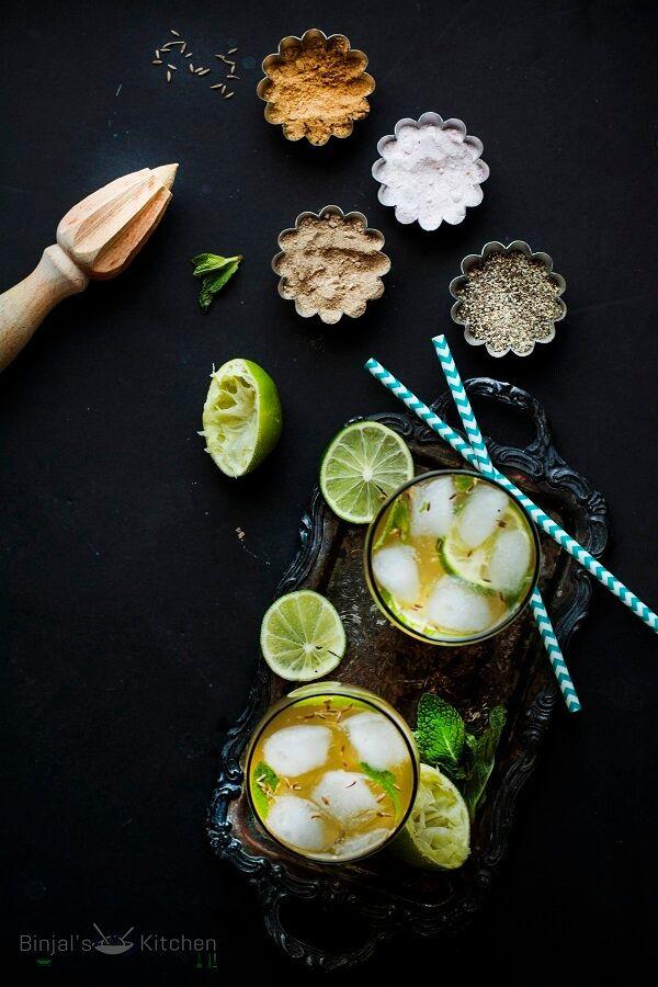 Nimbu Masala Soda - Binjal's VEG Kitchen