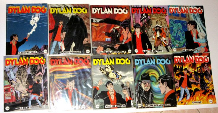 Dylan Dog prima edizione 151-160