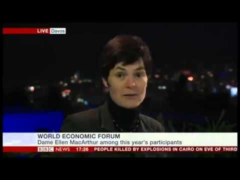Project MainStream: Ellen MacArthur at WEF, Davos - BBC News Channel - 24th January 2014 http://www.ellenmacarthurfoundation.org/blog/project-mainstream