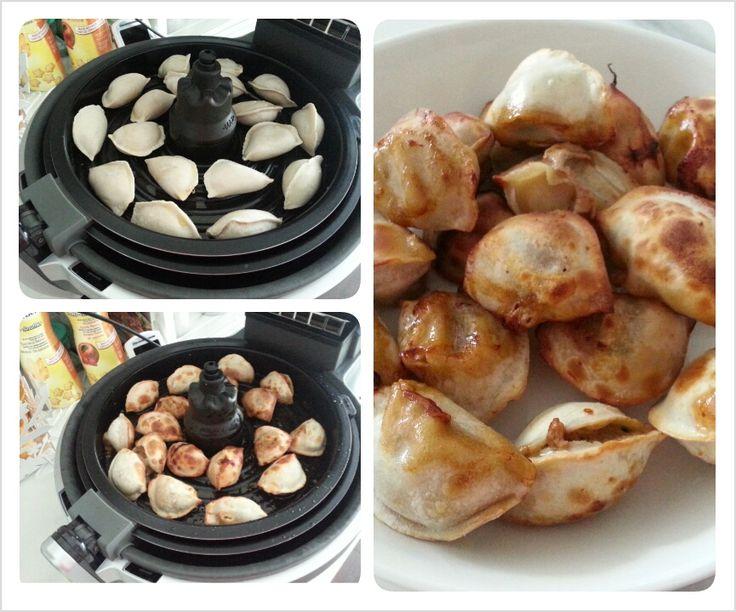 how to cook frozen dumplings in air fryer