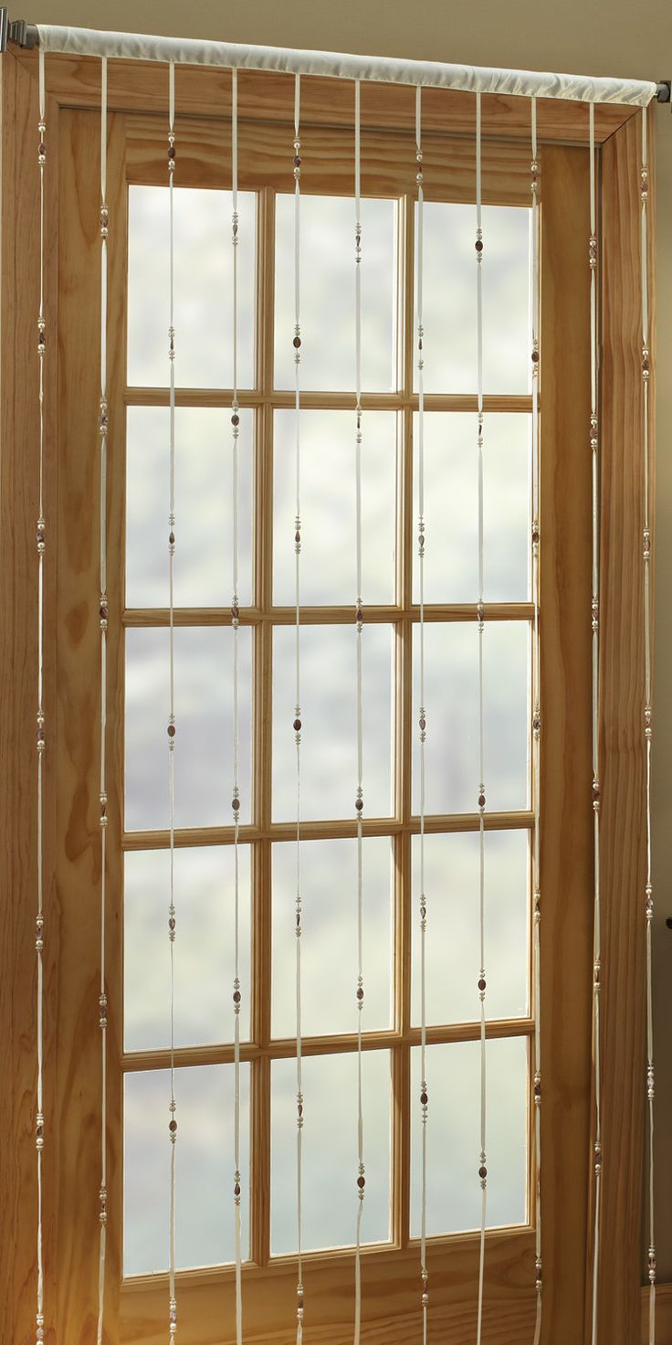 Beaded window panels - Find This Pin And More On Beaded Curtains