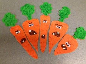 Creepy Carrots Flannel - possibly the best thing ever!! If you don't have this book in your library (home or work) you should!