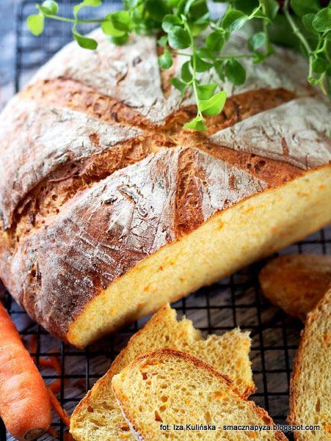 Smaczna Pyza - Sprawdzone przepisy kulinarne: Chleb pszenny na drożdżach i maślance, z marchewką...