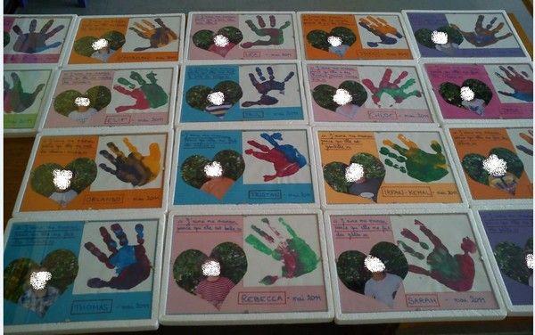 idées cadeaux 2011 pour la fête des mères ou des pères - école petite section