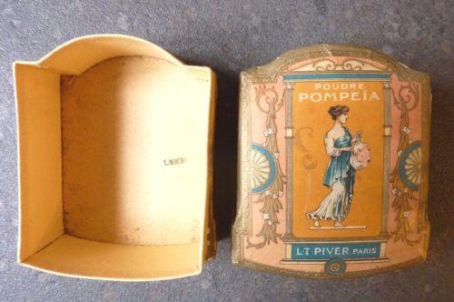 Boite-a-Poudre-de-Riz-POMPEIA-L-T-PIVER-PARIS-Art-Nouveau
