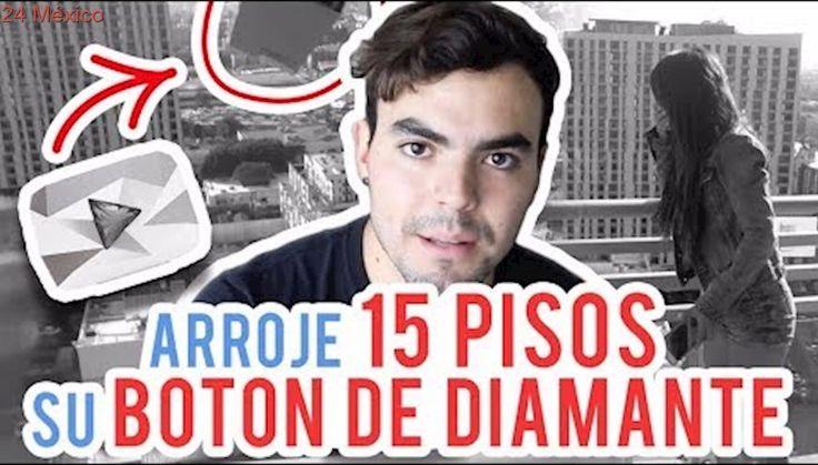 AVIENTO EL BOTON DE DIAMANTE DE CAELI POR EL BALCON   / ADRIANO ZENDEJAS (BROMA)