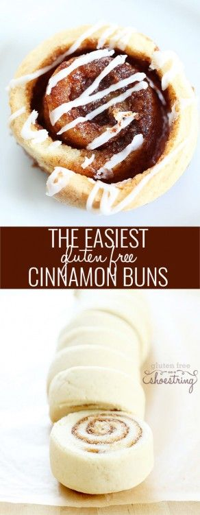 This recipe is the quickest, easiest way for you to have all the pleasure of gluten free cinnamon rolls. The house will smell amazing!