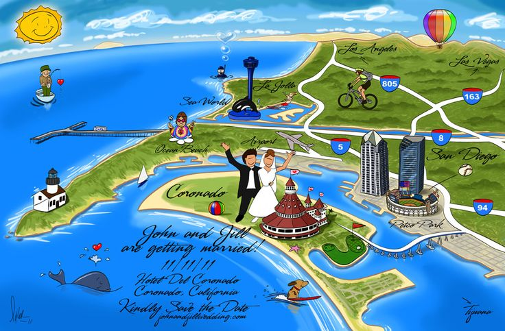 I love custom wedding maps Wedding