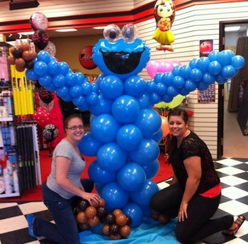 Cody Party Balloon Character