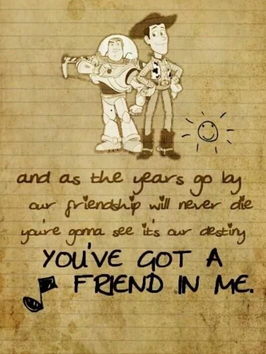You are a friend in me lyrics