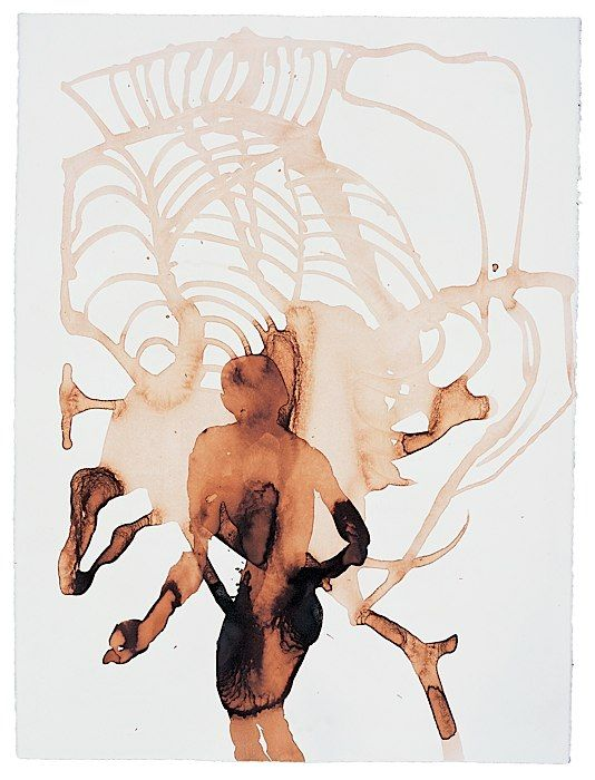 Drawing by Anthony Gormley