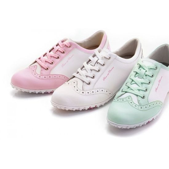 Duca Del Cosma Ladies Italian Golf Shoe Mila Pink | #Golf4Her #GolfShoe #Sale