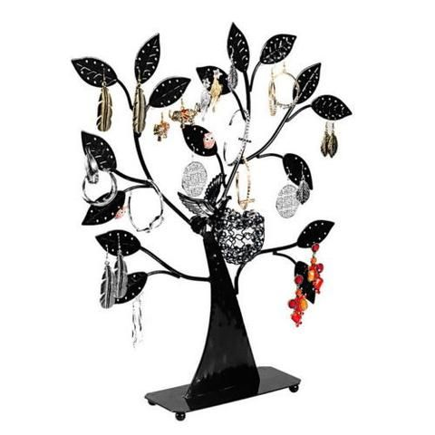 Jewelry Necklace Pendant Bracelet Earring Display Stand Holder Tree Bird Nest