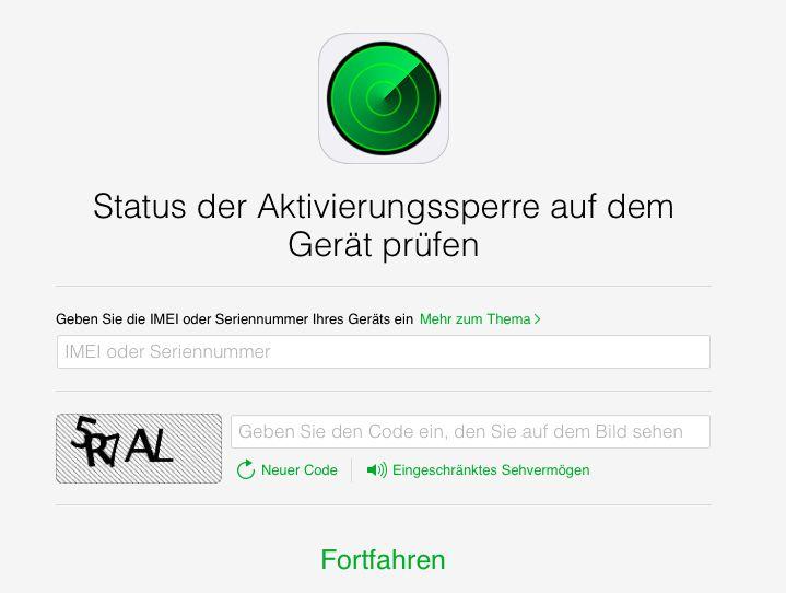 Nutzer Können Jetzt Auf Icloud.com Nachsehen, Ob Die Anti Diebstahl Funktion