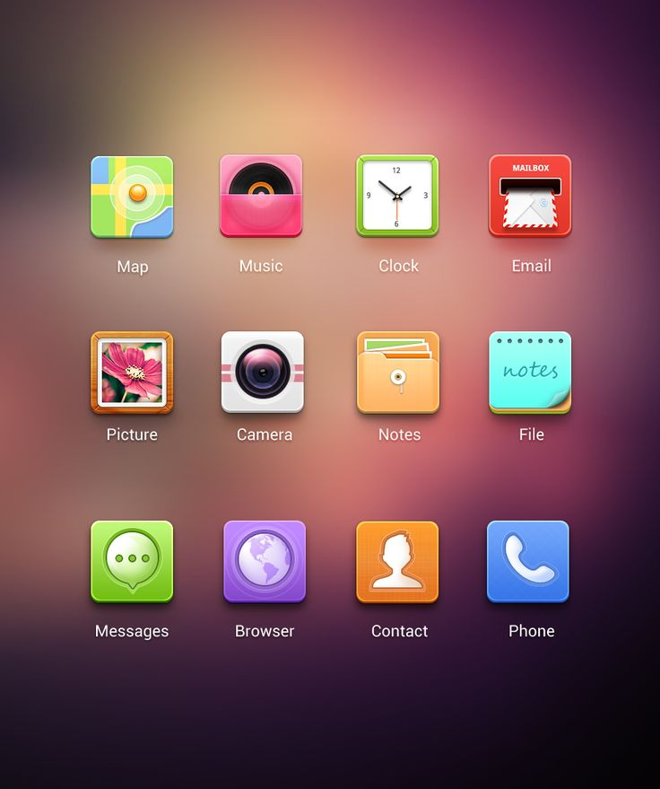 icons by cherry