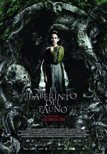 PAN'S LABYRINTH [Spain, 2006] In 1944 Spain young Ofelia (Ivana Baquero) and her ailing mother (Ariadna Gil) arrive at the post of her mother's new husband (Sergi López), a sadistic army officer who is trying to quell a guerrilla uprising. While exploring an ancient maze, Ofelia encounters the faun Pan, who tells her that she is a legendary lost princess and must complete three dangerous tasks in order to claim immortality.