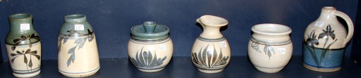 Historic Emerson Creek Pottery, 1983-1988. Available for purchase from our Bedford VA Outlet Store. Just arrived November 14, 2014.