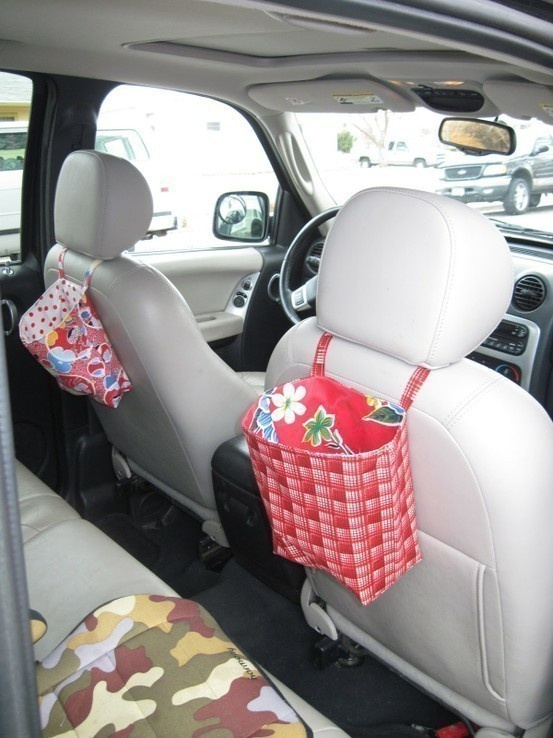 I need something like this to keep the back of the driver's seat safe for dirty little shoes.