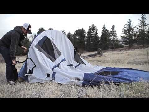 Wenzel Airpitch Vortex tent - YouTube & 29 best Camping - inflatable tents etc images on Pinterest ...