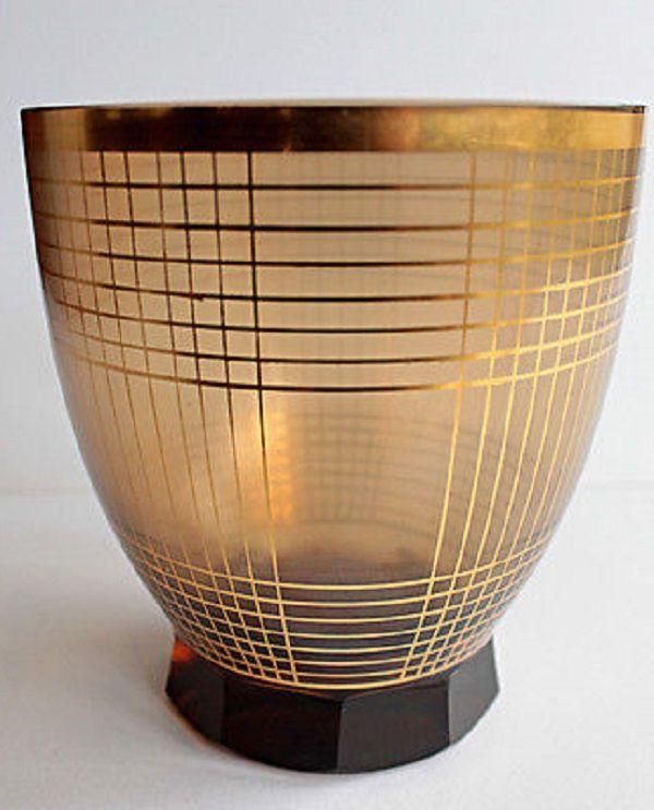 Fantastic Vase *** Podbira Haida *** Bohemian Czech Art Glass **