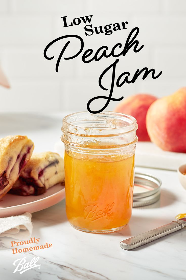 Peach Low Sugar Jam