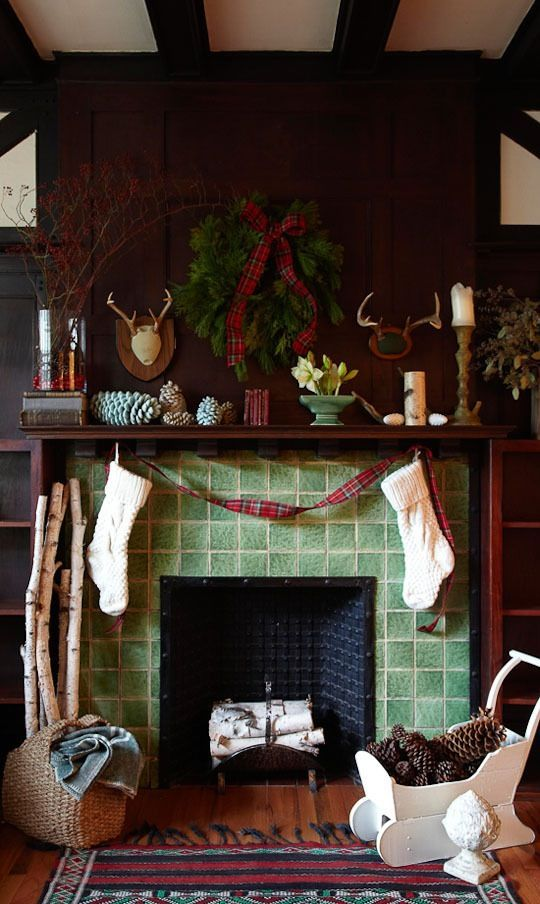 Stylish Holiday Mantels, 15 Ways