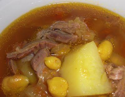 Kahakai Kitchen: Ab-Goosht--Persian Lamb Shank Soup