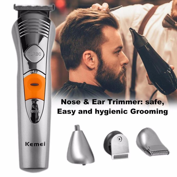 7 in 1 Rechargeable Grooming Set Kit Hair Beard Nose Clipper Trimmer Shaver Waterproof Design