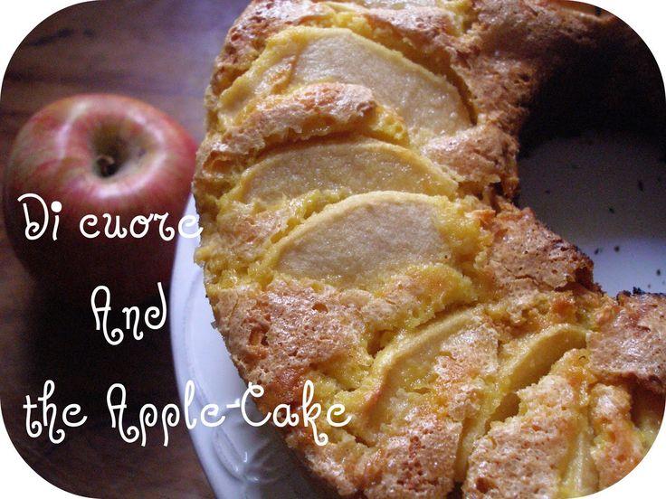 """""""di cuore"""": °*°Torta di mele con il Fornetto della Nonna°*°"""