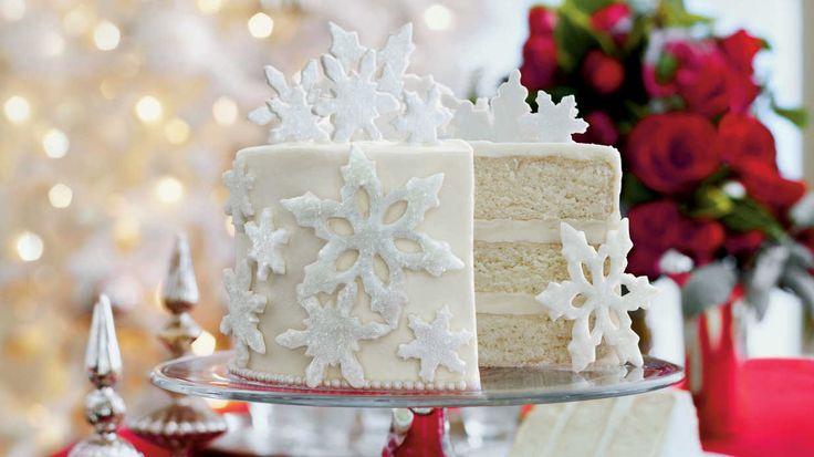 Mrs. Billett's White Cake - Southern Living Christmas Cakes - Southern Living