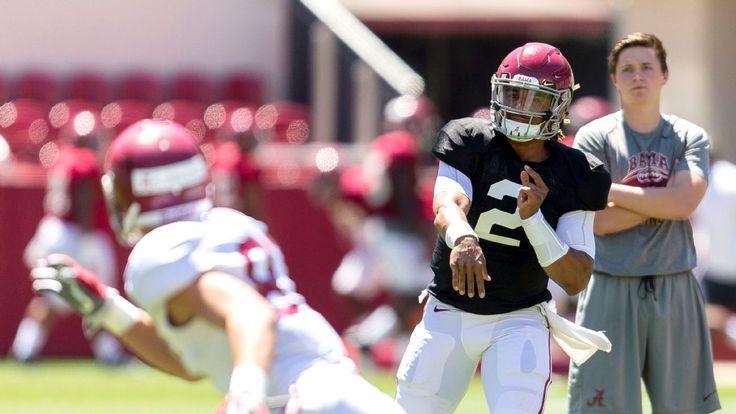 Alabama QB Jalen Hurts settles in despite the noise #FansnStars