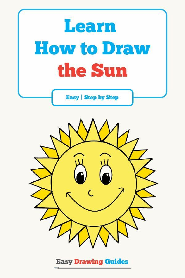 How To Draw A Cartoon Sun With Images Flower Drawing Tutorials