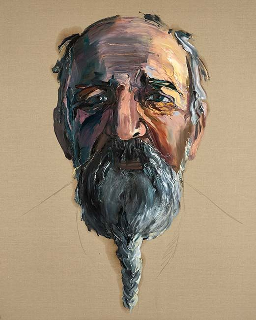 Man 8 by Anh Do at Olsen Irwin Gallery