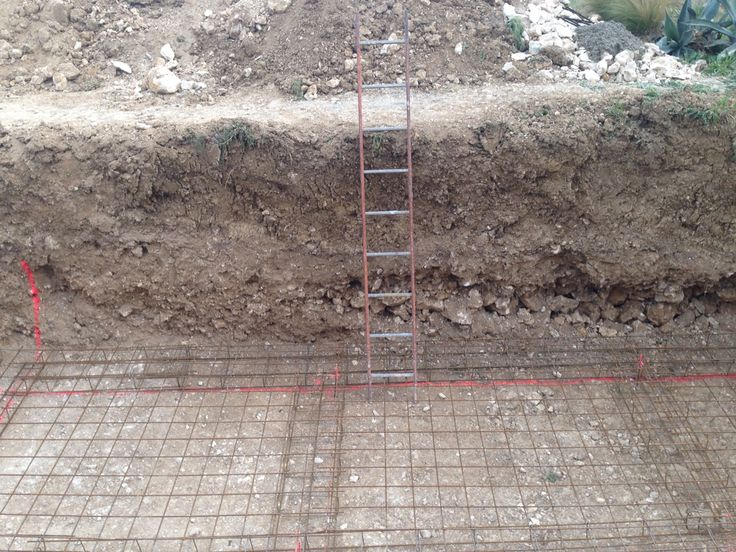 25 parasta ideaa pinterestiss ferraillage calcul mur for Radier piscine beton