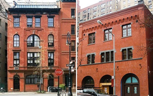 Barrow street nyc building conversions lucy lived in for Garages you can live in