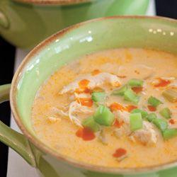 Buffalo Chicken Soup...Ummm YUM!