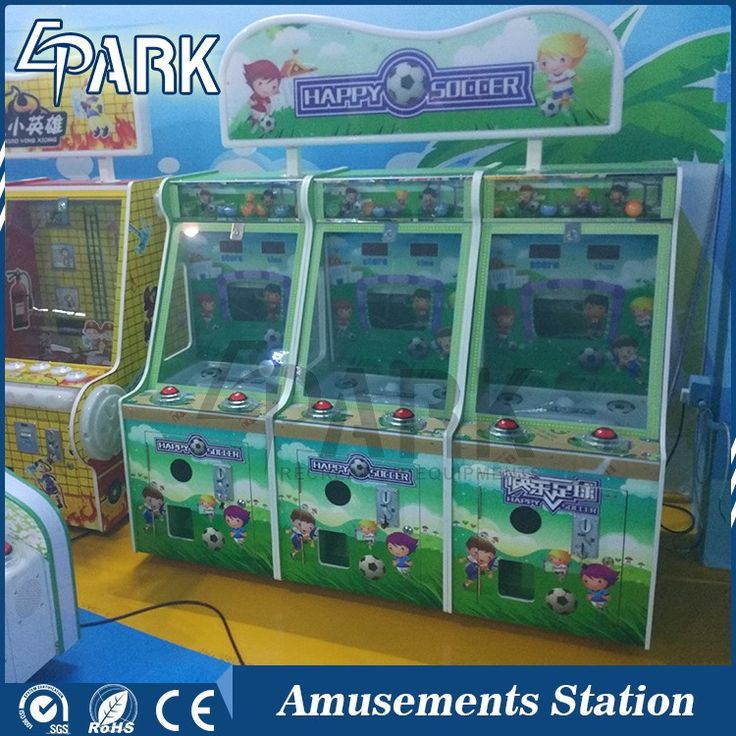coin operated happy football simulator arcade pinball game machine happy soccer throw the ball ticket redemption game machine