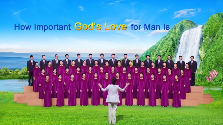 "The Gospel Hymn | Chinese Chorus ""How Important God's Love for Man Is"""
