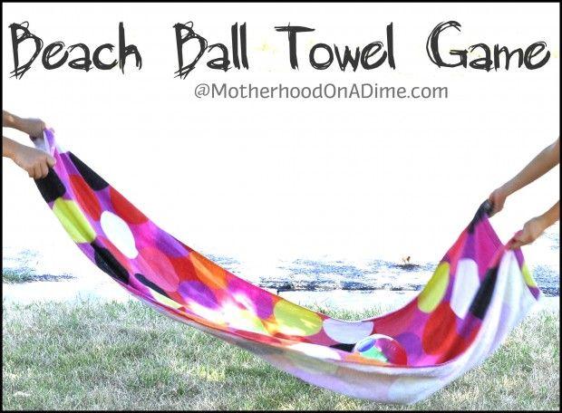Beach Ball Towel Game