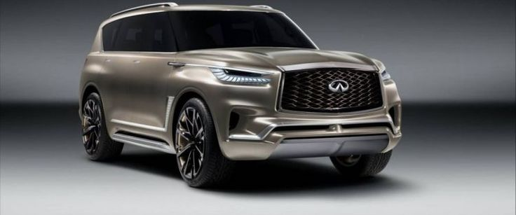Infiniti Presents Facelift For QX80 SUV