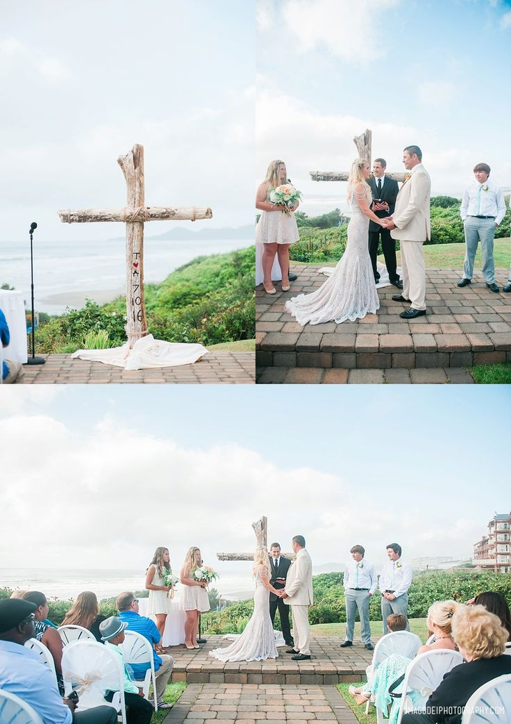 beach wedding places in california%0A Hallmark Resort Weddings  Destination Weddings on the Oregon Coast  Newport  Oregon Wedding Photographers