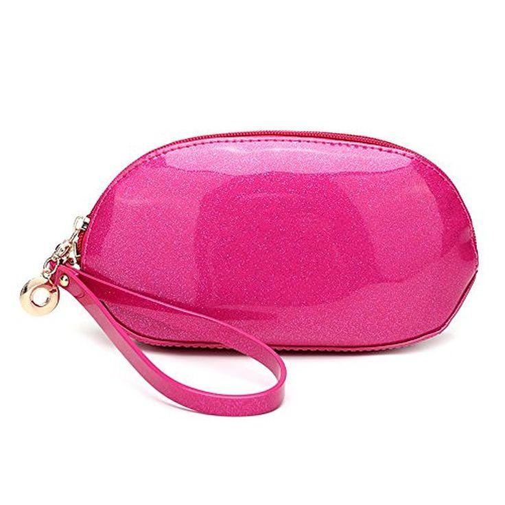 Moleya Mini-size Shining Women Wristlet Handbag