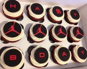 Designer Cupcake Decor ~ Inspired by AIR Jordan