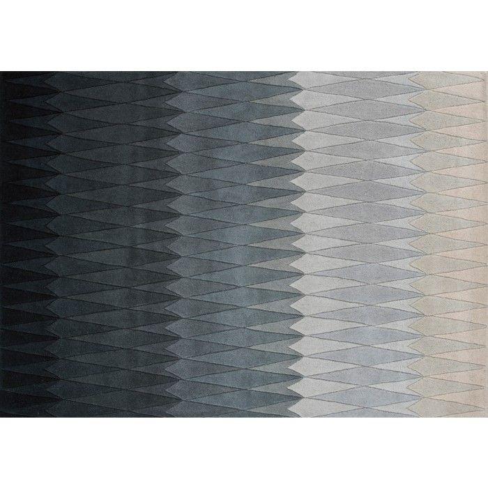 Linie Design Madeus Grey Wool Rug