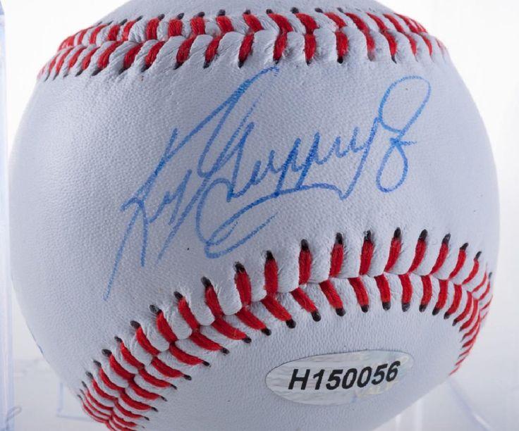 "Ken ""The Kid"" Griffey Jr. Autographed Baseball"